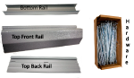 Rapid Wall Trim Kit Grey