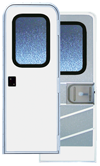 36  X 70 Series 5050 Radius Corner RV Door