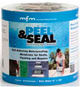 "Peel & Seal 12"" White Aluminum Roll Roofing"