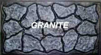Mason&#39s Rock panel 32 in. X 5 ft. Slate Grey skirting panels