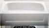 Bathtub 27 x 54 White ABS Tub Left Hand Drain