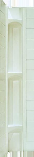 Better Bath Almond Corner Caddies For  Part No. 5330092  2/ctn