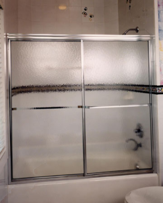 "Shower Door for 27"" x 54"" Tub - Bypass"