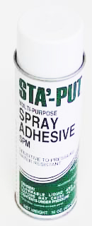 Sta-Put Spray Adhesive