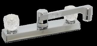 Kitchen faucet plastic under body 8 inch