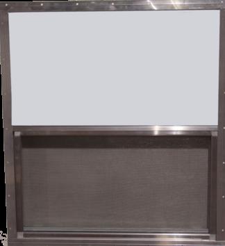 36.25in. x 39.625in. Single Pane Aluminum Slider Window & Screen