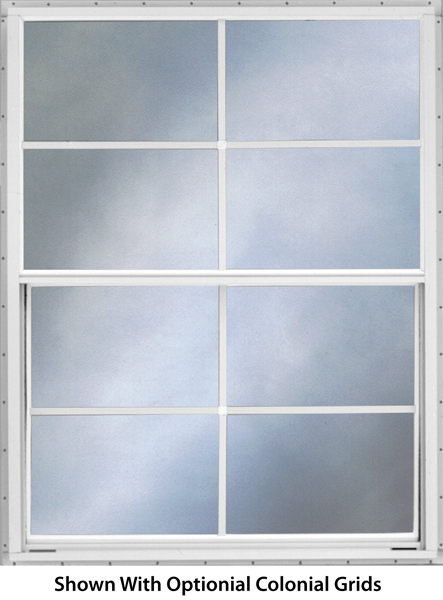 Aluminum Storm Window Upper Lower Sash With Variable