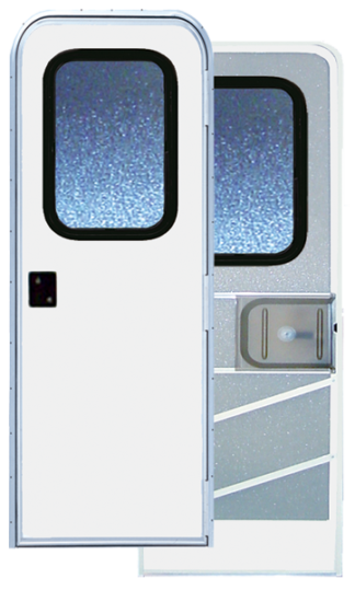 32 X 72 Series 5050 Radius Corner RV Door