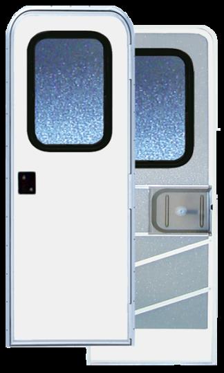 36 X 70 Series 5050 Radius Corner RV Door