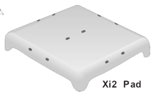 Xi-2 STEEL GROUND PAD