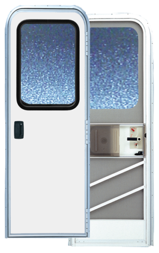 28.5  X 68 Series 5050 Radius Corner RV Door