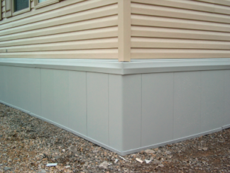 Rapid Wall Insulated Skirting Panels Grey