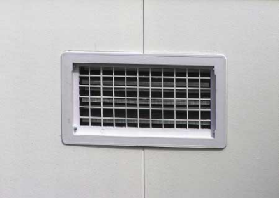 Automatic Foundation Vents White