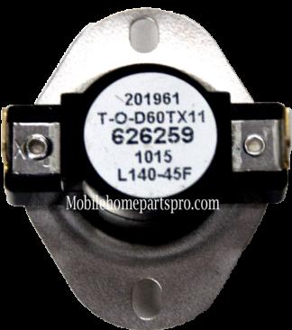 Limit Switch (L140-45F) Nordyne PN 626259