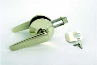 Passage Lever Door Handle Stainless Finish