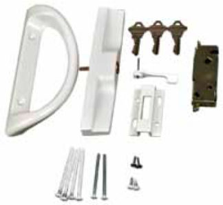 Patio Door Lock Kinro Vinyl Series