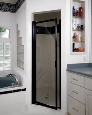 Pivot Shower Door 28""