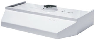 "Range Hood White 42"" Round Top"