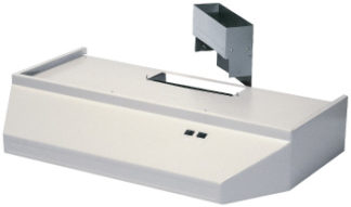"Range Hood White 42"" Universal Power"