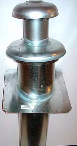 "Nordyne Roof Jack Telescoping  slant flashing (27"" min -47"" max)"