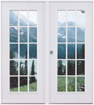 "Double French Doors 72"" X 76"" R/H Open"
