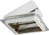 Roof Ventadome Non Powered Smoke Cover Polar Screen