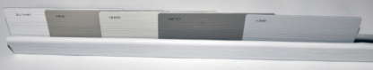 Premium Vinyl Skirting bottom rail white Style-Crest