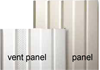 Eagle c-vent skirting panels white Style Crest sold 12 per ctn .