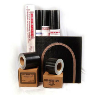 "Bottom Closure Tape Adhesive 4""x 165&#39 Roll"