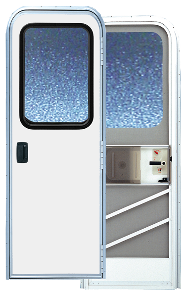 24.5  X 72 Series 5050 Radius Corner RV Door