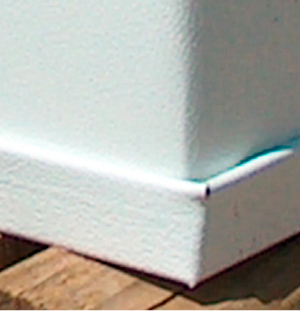 Rapid Wall Bottom Rail White