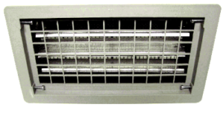 Automatic Foundation Vent Brown