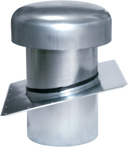 Roof Cap with Slant Flange