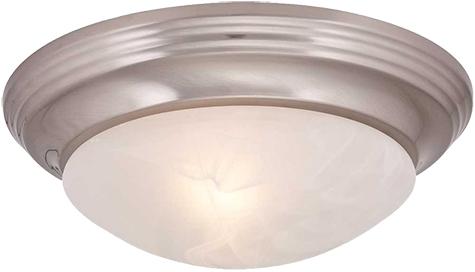 13 1 4 Flush Mount 2 Bulb Ceiling Light