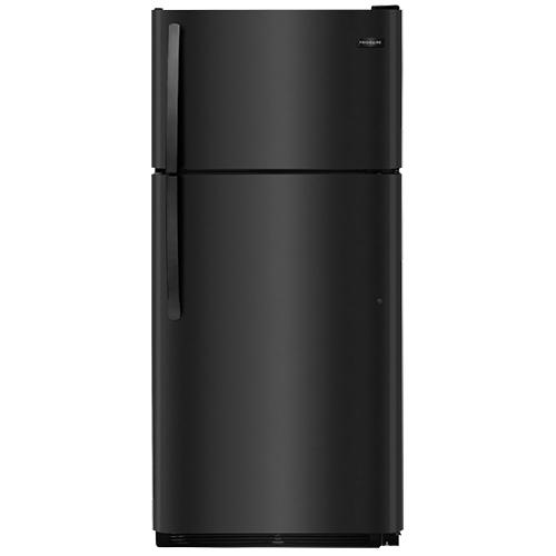 17 5 Cu Ft Top Mount Refrigerator Black Mobile Home