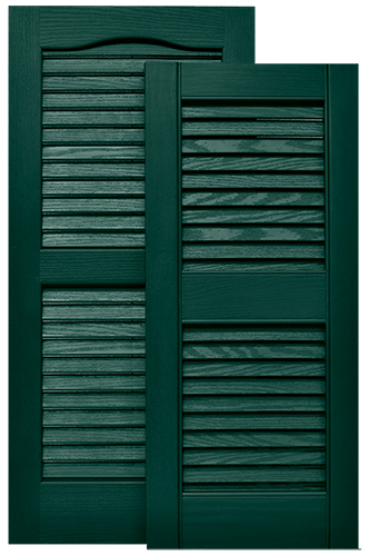 Shutter 12 X 28 Green Louver Mobile Home Parts Pro