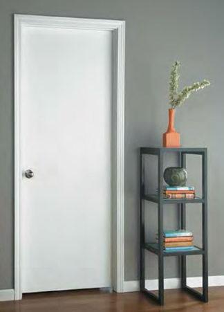 28 X 80 Smooth Finish White Interior Door